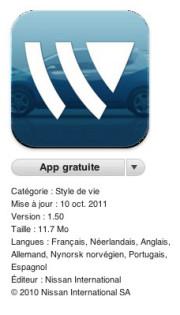 application iphone bornes de recharge